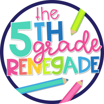 Welcome to The 5th Grade Renegade!